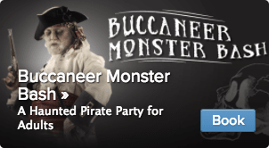 Book now! 2nd Annual Buccaneer Monster Bash