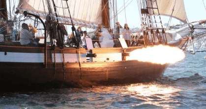 Festival of Sail Cannon Battle
