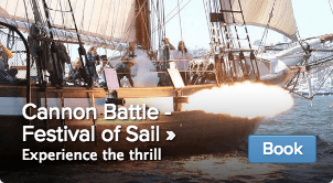 Cannon Battle Festival of Sail Tickets