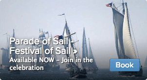 Parade of Ships Festival of Sail Tickets