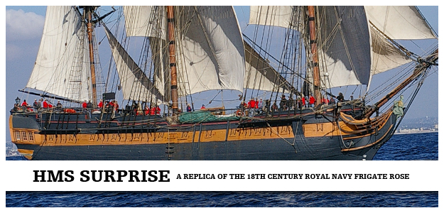 Hms Surprise Maritime Museum Of San Diego