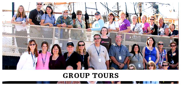 group tours at the museum