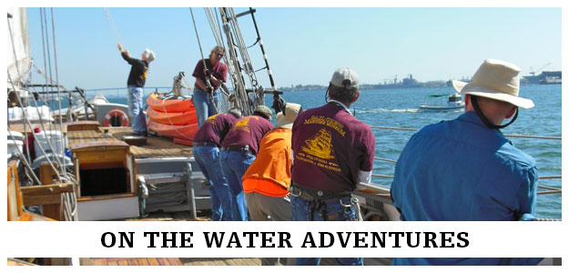 On the water events