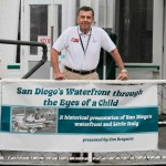 Jim Bregante aboard Berkeley