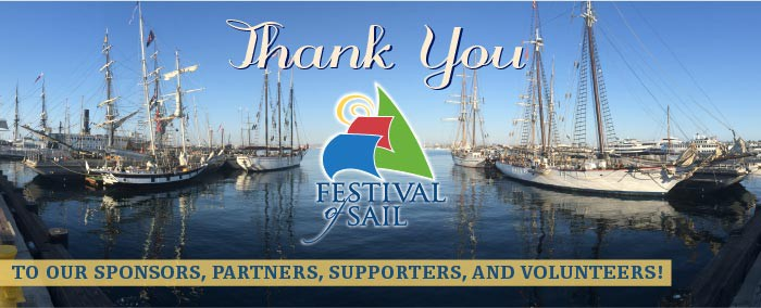 Festival of Sail Thank You