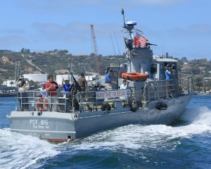 Swift Boat Tours PCF 816
