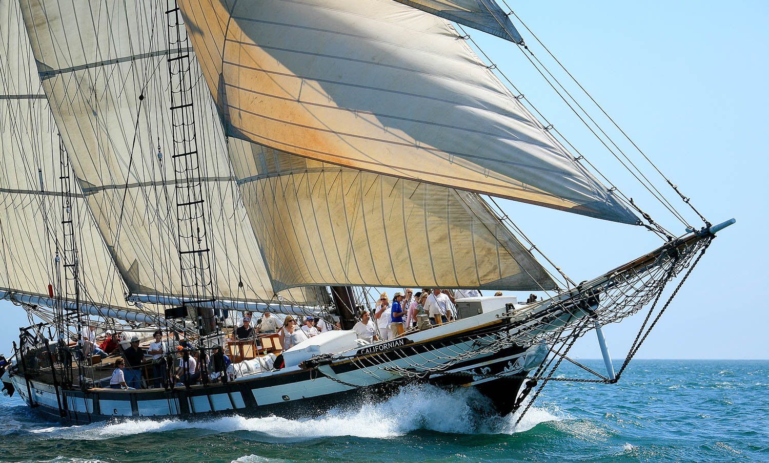 Tall Ship Adventure Aboard Californian Maritime Museum