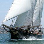 Harbor Sail Aboard <em>America</em>