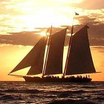 Sunset Sail Aboard <em>America</em>