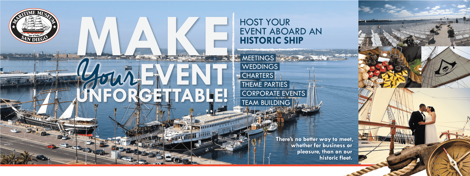 Private Events at the Maritime Museum of San Diego