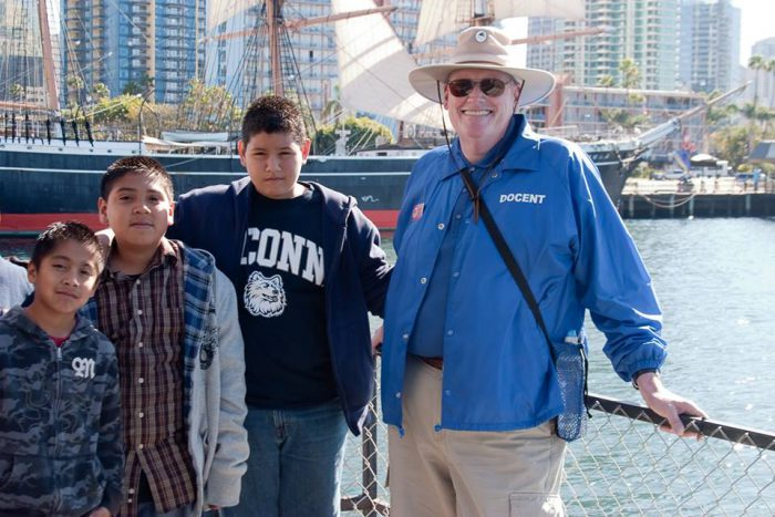 Docents at the Maritime Museum of San Diego