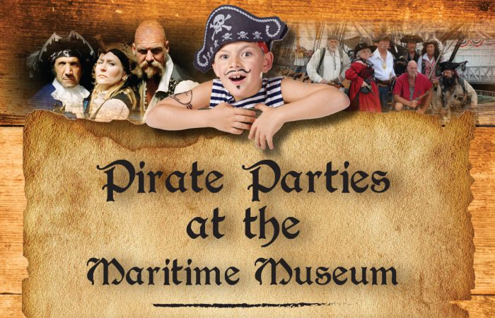 Pirate Parties at the Maritime Museum of San Diego