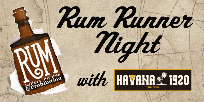 Rum Runner Night