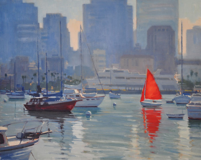 "Arthur Beaumont ""Art of the Sea"" and ""Sea & Shore"" Plein Air Paintings On Display for a Limited Time at Maritime Museum of San Diego"