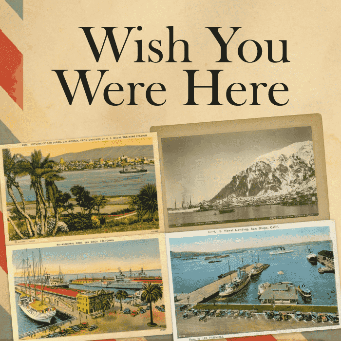 Wish you were here - Vintage postcards and photography from around the globe