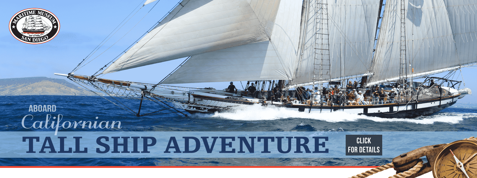Tall Ship Adventure aboard Californian