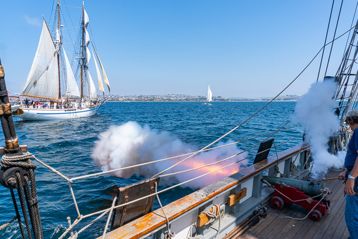 Port of San Diego presents Festival of the Sea - Gun battles