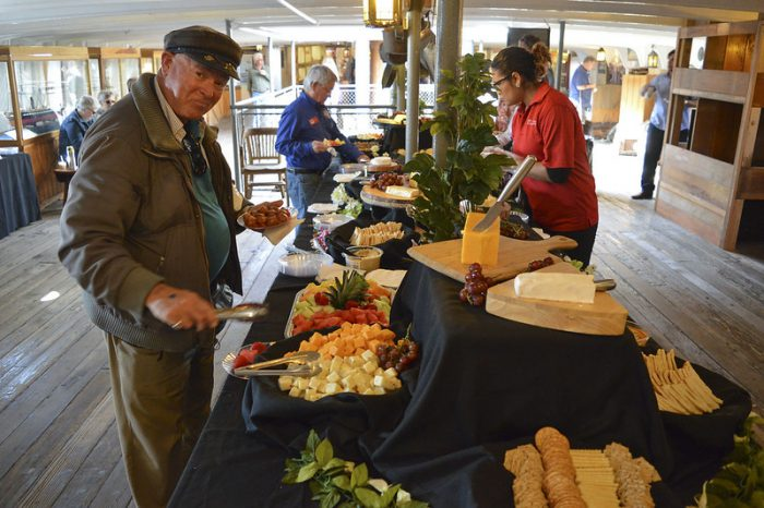 Catering at Maritime Museum of San Diego