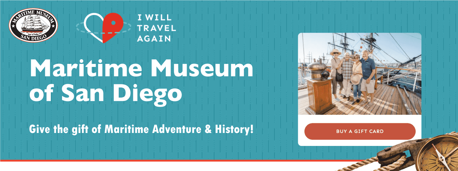 Gift Cards - Maritime Museum of San Diego