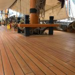 HMS Surprise's new deck