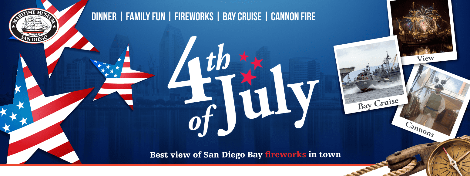 4th of July - Maritime Museum of San Diego